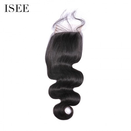 ISEE HAIR 4*4 Lace Closure for All Hair Texture