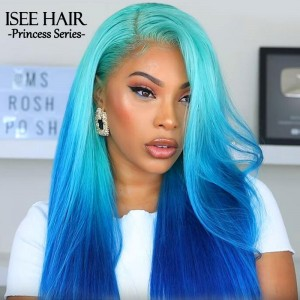 Msroshposh - Presale Brazilian Straight Blonde 613 Human Hair Wigs | ISEEHAIR