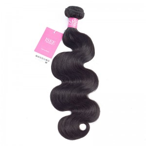 ISEE HAIR 1 Bundles Deal for All Hair Textures, 9A Grade 100% Human Virgin Hair unprocessed Human Hair 1 Bundle Deal