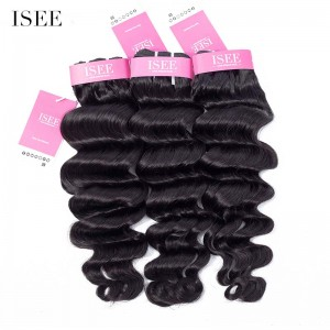 ISEE HAIR 9A Grade 100% Human Virgin Hair Hollywood Wave Bundles Deal