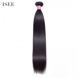 ISEE HAIR 1 Bundles Deal for All Hair Textures, 10A Grade 100% Human Virgin Hair unprocessed Human Hair 1 Bundle Deal