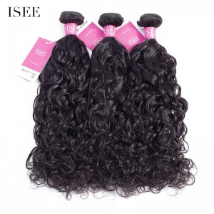 ISEE HAIR 9A Grade 100% Human Virgin Hair unprocessed Brazilian Natural Wave Bundles Deal