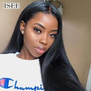 ISEE HAIR 10A Grade 100% Human Virgin Hair unprocessed Straight Hair 3 Bundles Deal